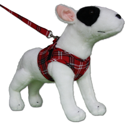 Hundesele Comfy Sele Design Scottish Red